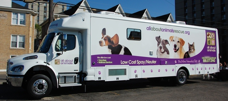 Schedule A Mobile Spay Neuter Appointment All About Animals