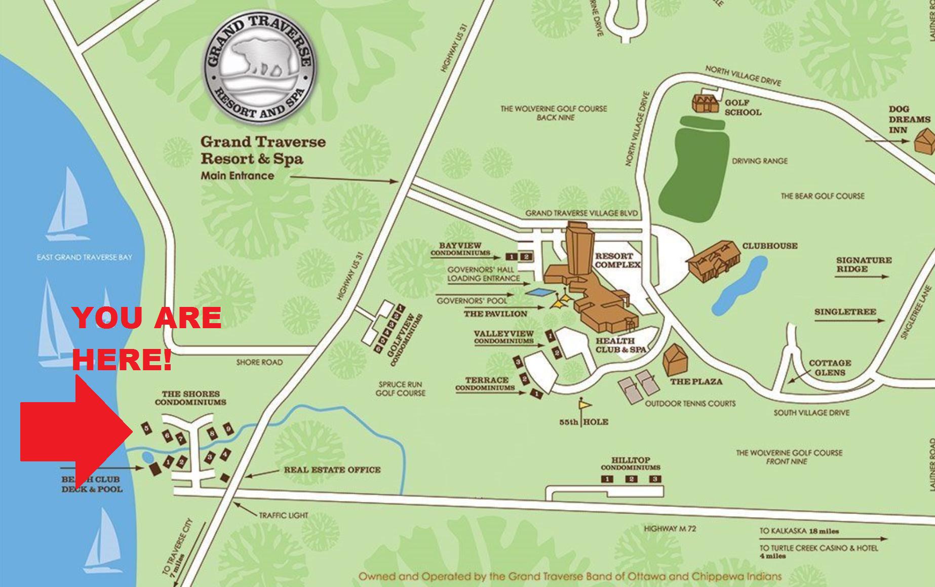 Shores Map